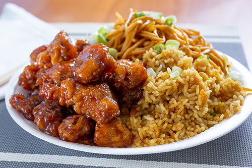 Chicken and Fried Rice Combo